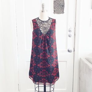 Alice and Olivia Black and Red Dress